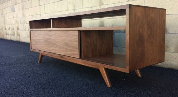 Innovative Variety Of Scandinavian TV Stands Pertaining To The Porkchop Is A Mid Century Modern Danish Modern Tv Console (Image 31 of 50)