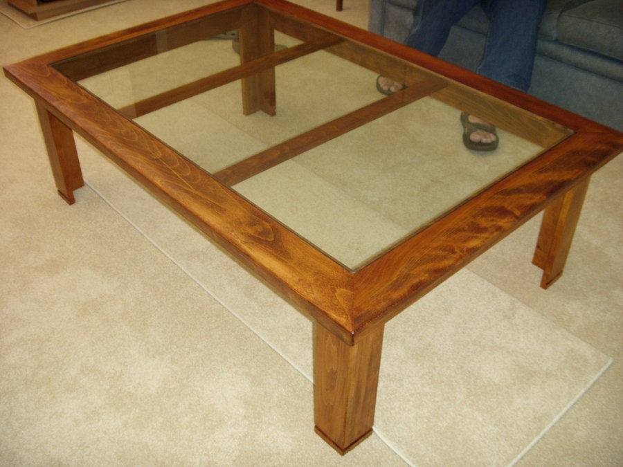 Innovative Well Known Beech Coffee Tables With Regard To Glass Top Beech Coffee Table Art Lumberjocks (Image 32 of 50)