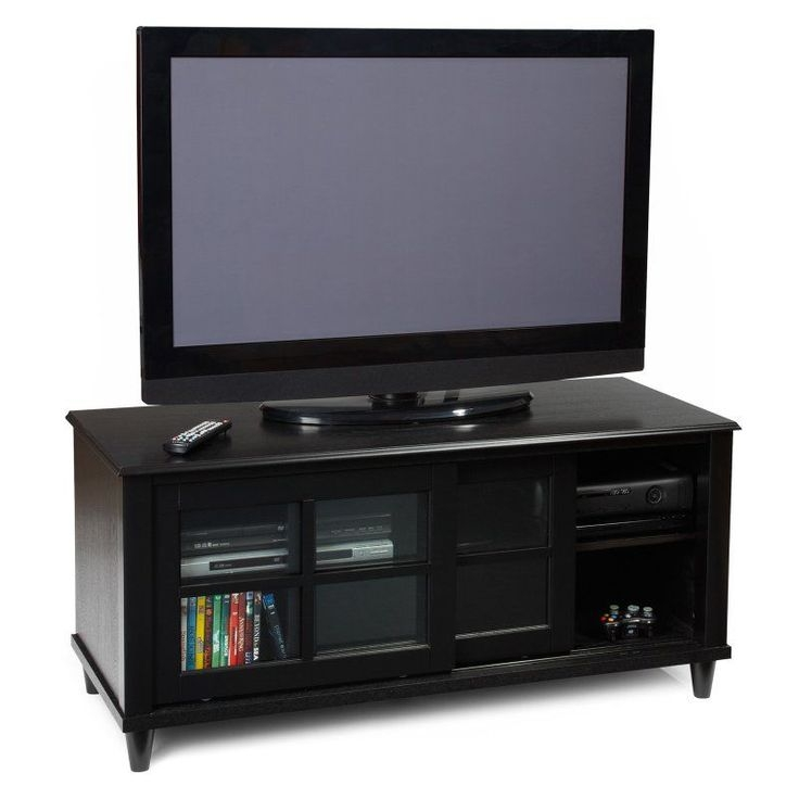 Innovative Well Known Black TV Cabinets With Doors Inside Best 25 Black Tv Stand Ideas On Pinterest Living Room Sets Ikea (Image 37 of 50)