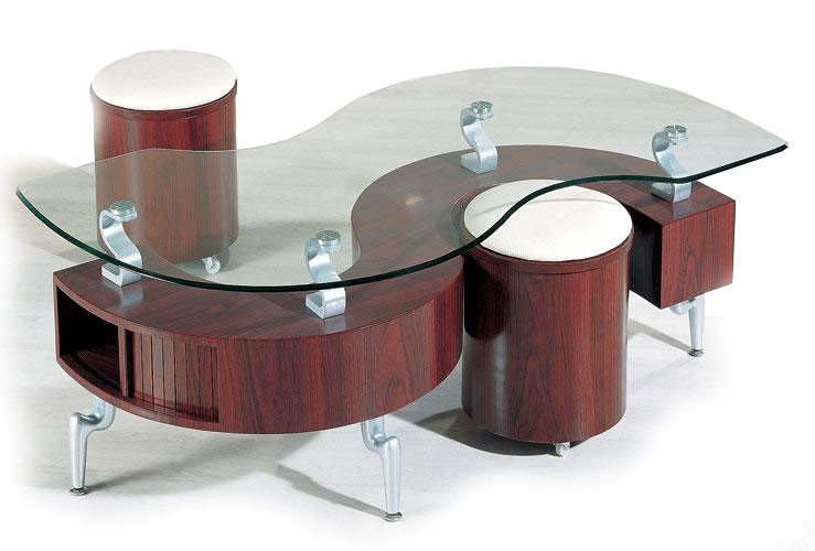 Innovative Well Known Coffee Tables With Nesting Stools Throughout Coffee Table Coffee Table With Stools Underneath Coffee Table (View 4 of 50)