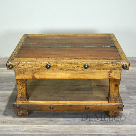 Innovative Wellknown Colonial Coffee Tables Intended For Unique Rustic Coffee Tables Rustic Living Room Furniture (Image 33 of 50)