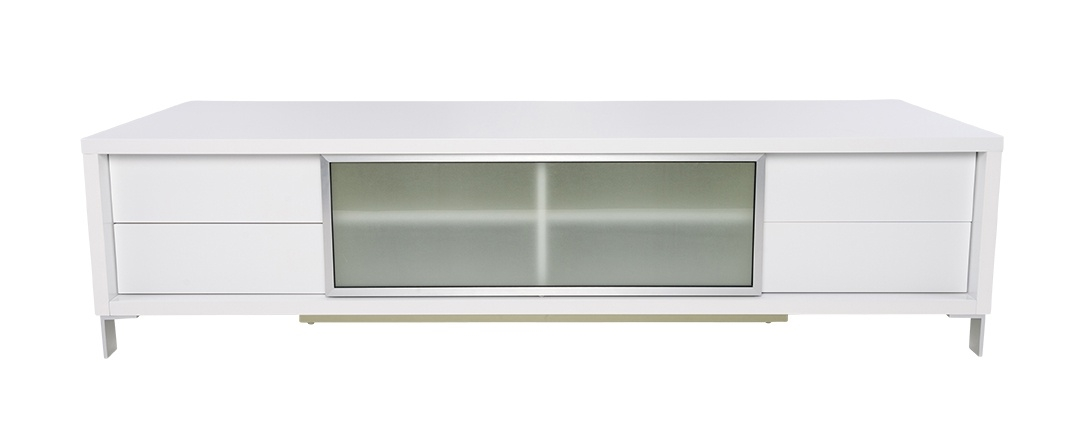 Innovative Wellknown Contemporary TV Stands For Contemporary White Epopee Tv Stand With Storage Space (Image 33 of 50)