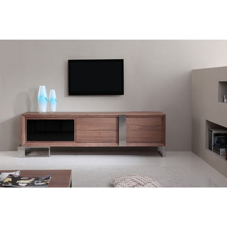 Innovative Well Known Dark Walnut TV Stands For Best 25 Contemporary Tv Stands Ideas On Pinterest Contemporary (Image 32 of 50)