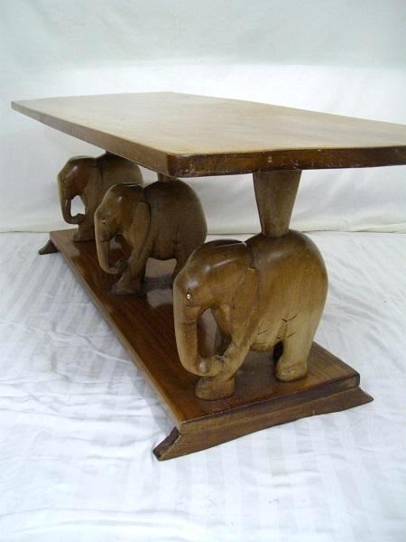 Elephant Gl Top Coffee Tables Table Ideas