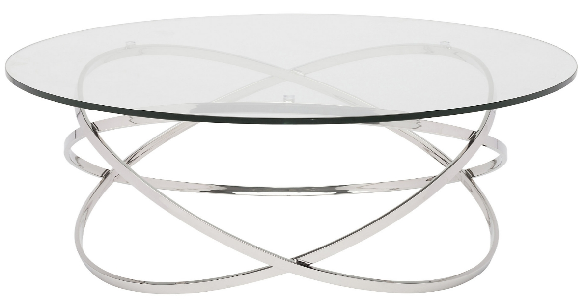Innovative Wellknown Elise Coffee Tables Throughout 8 Modern Round Glass Coffee Tables For Your Home (Image 23 of 40)