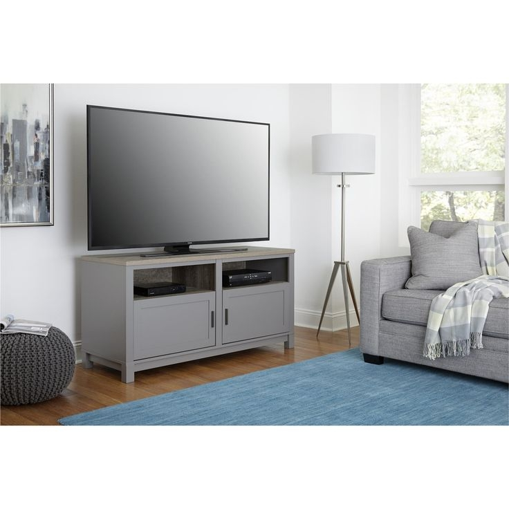 Innovative Well Known Grey Corner TV Stands Within Tv Stands Modern Fireplace 60in Tv Stand Ideas Tv Stands Wayfair (View 40 of 50)