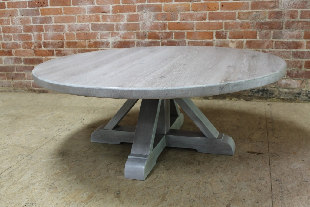Innovative Wellknown Grey Wash Coffee Tables Intended For Round Grey Wash Coffee Table Interior Siding Ideas Decorate (Image 33 of 50)