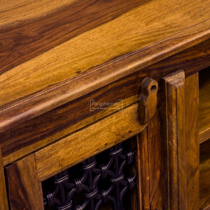 Innovative Wellknown Jali TV Cabinets Pertaining To Jali Sheesham Corner Tv Dvd Unit Jali Doors Open Shelvest (Image 31 of 50)