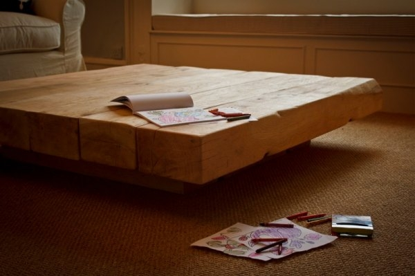 Innovative Wellknown Large Low Oak Coffee Tables In Agreeable Large Low Coffee Table On Diy Home Interior Ideas With (Image 40 of 50)