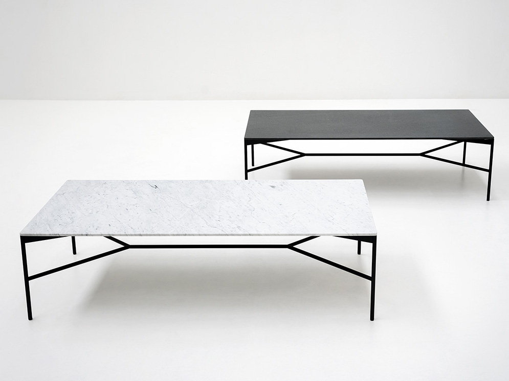 Innovative Well Known Marble Coffee Tables Intended For Chill Out Coffee Table Tacchini Design Gordon Guillaumier (View 11 of 50)