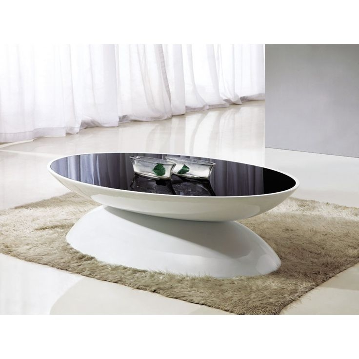 Innovative Well Known Oval Gloss Coffee Tables Pertaining To Best 25 White Gloss Coffee Table Ideas On Pinterest Table Tops (Image 21 of 40)