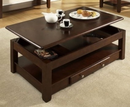 Innovative Well Known Pull Up Coffee Tables Throughout Pull Up Coffee Table Coffee Table Amazing Coffee Tables That Lift (Image 35 of 50)