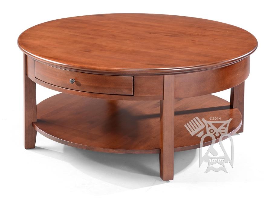 Innovative Wellknown Round Coffee Tables With Drawers Regarding Hoot Judkins Furnituresan Franciscosan Josebay Areawhittier (View 37 of 50)