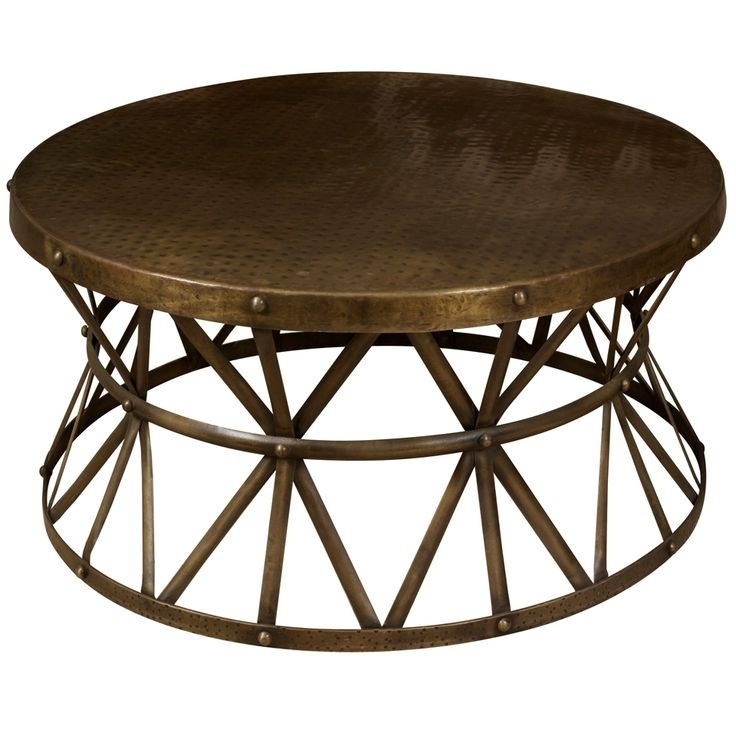 Innovative Well Known Round Steel Coffee Tables Regarding Coffee Table Base Ideas (Image 29 of 50)