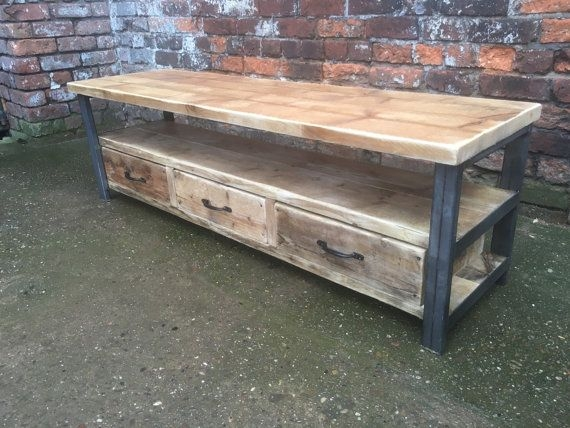 Innovative Well Known Rustic Coffee Table And TV Stands For Best 10 Reclaimed Wood Tv Stand Ideas On Pinterest Rustic Wood (Image 32 of 50)