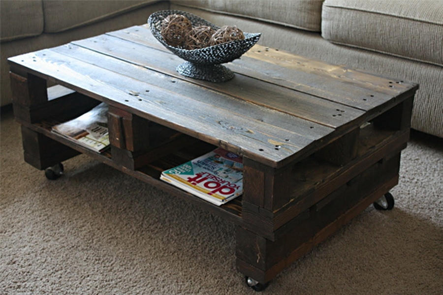 Innovative Well Known Rustic Coffee Table With Wheels Inside Astonishing Rustic Coffee Table With Wheels Design (Image 30 of 50)
