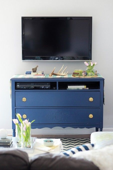 Innovative Well Known Small TV Stands For Top Of Dresser Within Top 25 Best Long Tv Stand Ideas On Pinterest Diy Entertainment (Image 31 of 50)