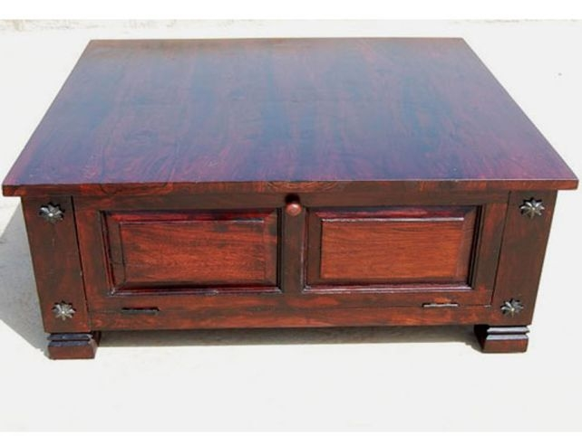 Innovative Wellknown Square Coffee Tables With Storages Regarding Living Room The Storage Square Coffee Table Custom Large (Image 31 of 50)