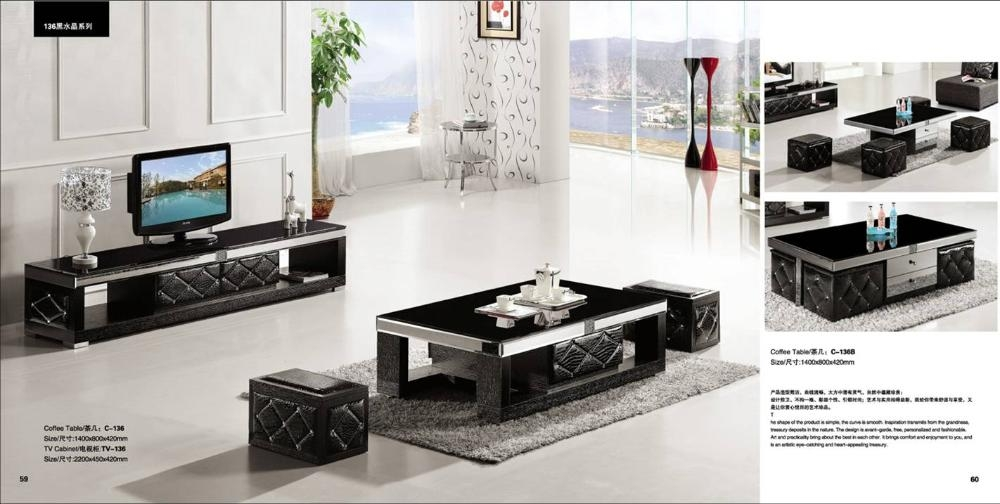 Innovative Wellknown TV Stands Coffee Table Sets With Tv Table Set Wood Lcd Tables Wood Lcd Tables Suppliers And At (Image 32 of 50)