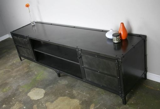 Innovative Wellknown Vintage Industrial TV Stands Throughout Buy A Handmade Vintage Industrial Media Console Tv Stand (Image 33 of 50)