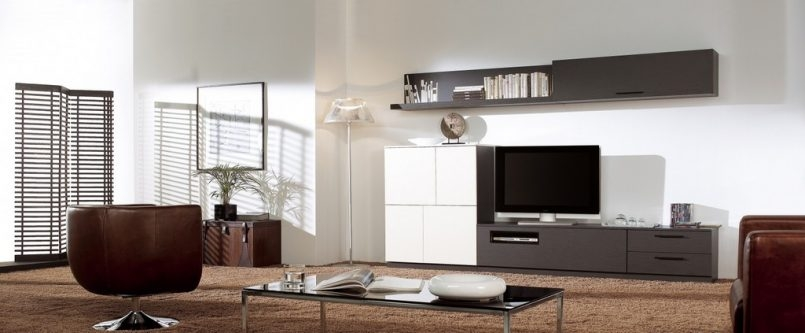 Innovative Well Known Wall Mounted TV Stands For Flat Screens Intended For Tv Wall Panel Panel Tv Wall Walnut Oak White Hover To Zoom Full (Image 30 of 50)