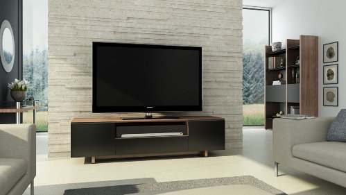 Innovative Well Known Walnut TV Stands For Flat Screens Regarding Contemporary Tv Cabinets For Flat Screens Roselawnlutheran (Image 29 of 50)