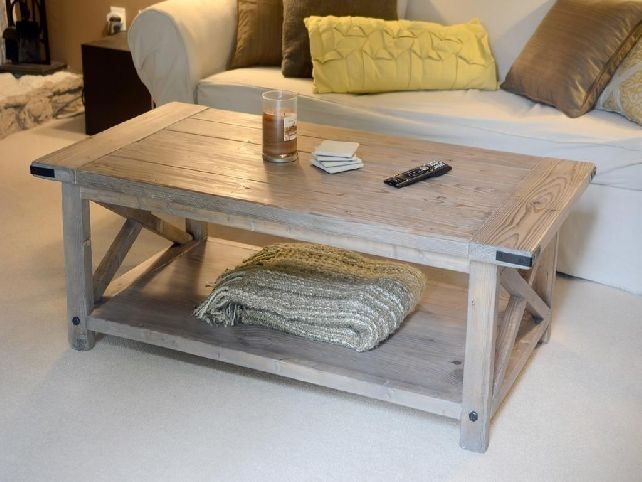 Innovative Wellknown Wayfair Coffee Tables Regarding Coffee Table Affordable Furniture Creating Distressed Wood Coffee (Image 30 of 40)