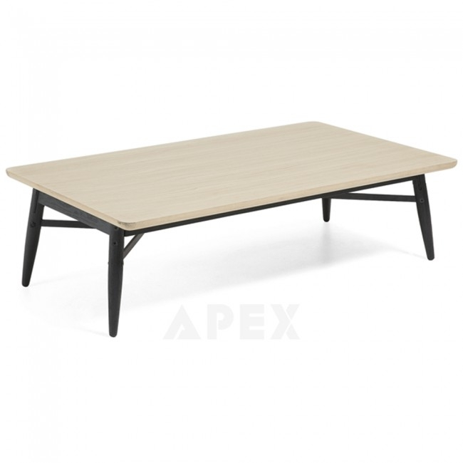 Innovative Wellliked Ava Coffee Tables With Regard To Ava Coffee Table Top In White American Oak And Metal Barons (View 18 of 50)