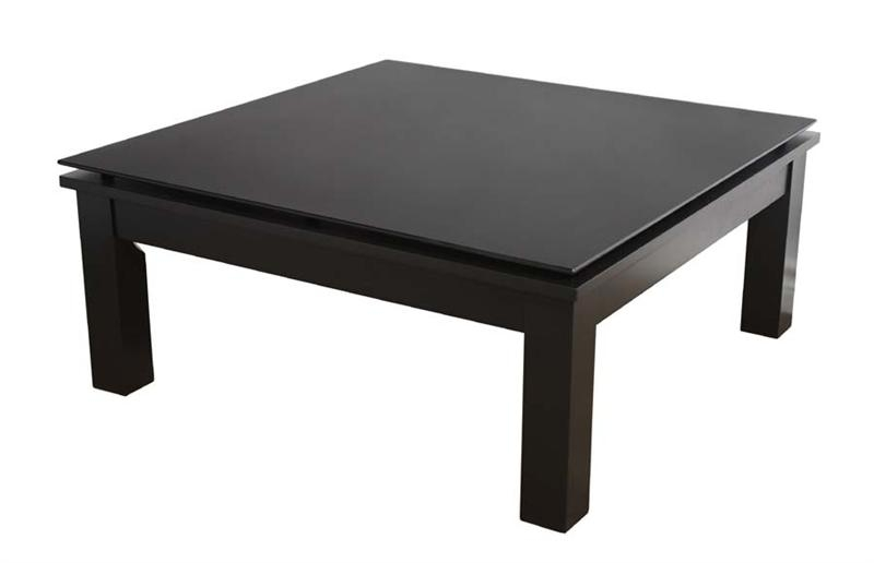 Innovative Wellliked Black Coffee Tables With Storage Regarding Black Square Coffee Table (Image 32 of 40)