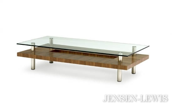 Innovative Wellliked Large Rectangular Coffee Tables Within Contemporary Coffee Tables Modern Coffee Tables New York (Image 31 of 40)