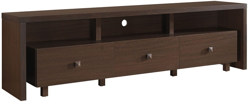 Innovative Wellliked Light Brown TV Stands In Techni Mobili 70 Tv Stand With 3 Drawer Light Chocolate Rta (Image 32 of 50)