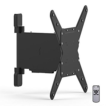 Innovative Widely Used Bracketed TV Stands With Slim Line Tv Wall Mount Bracket With Motorised Remote Amazonco (Image 34 of 50)