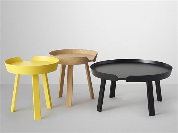 Innovative Widely Used Circle Coffee Tables With Coffee Table Round Black (Image 30 of 50)