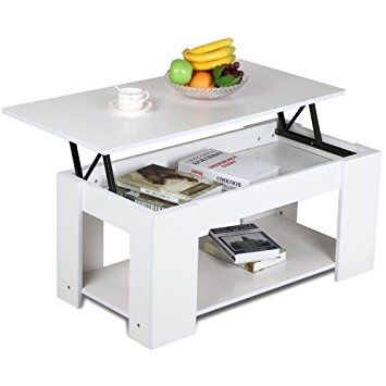Innovative Widely Used Coffee Tables With Lift Up Top Throughout Amazon Yaheetech Lift Up Top Coffee Table With Storage (Image 22 of 40)