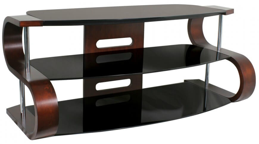 Innovative Widely Used Curve TV Stands With 16 Types Of Tv Stands Comprehensive Buying Guide (View 9 of 50)