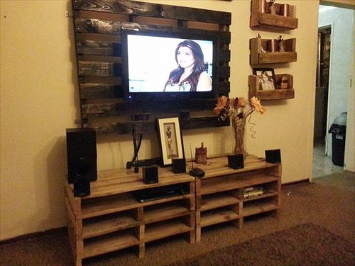 Innovative Widely Used Dwell TV Stands In Dwell Of Decor 30 Creative And Easy Diy Tv Stand Ideas From Old (Image 34 of 50)