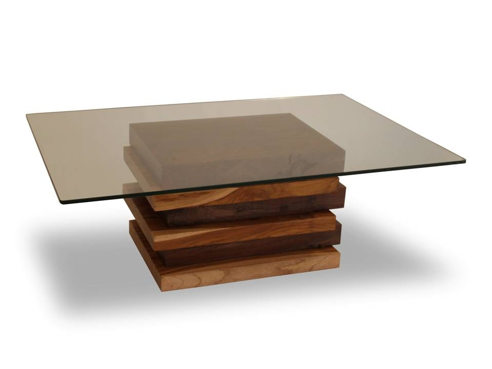 Innovative Widely Used Glass And Oak Coffee Tables Regarding Coffee Table With Glass Top (Image 35 of 50)