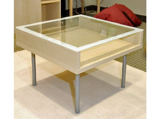 Innovative Widely Used Glass Top Storage Coffee Tables Within Stylish Coffee Tables Ikea (Image 37 of 50)
