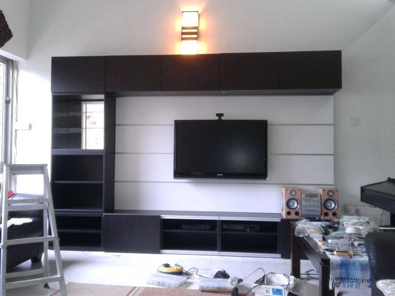 Innovative Widely Used Large TV Cabinets Pertaining To Modern Corner Entertainment Center Telefonesplus (View 24 of 50)