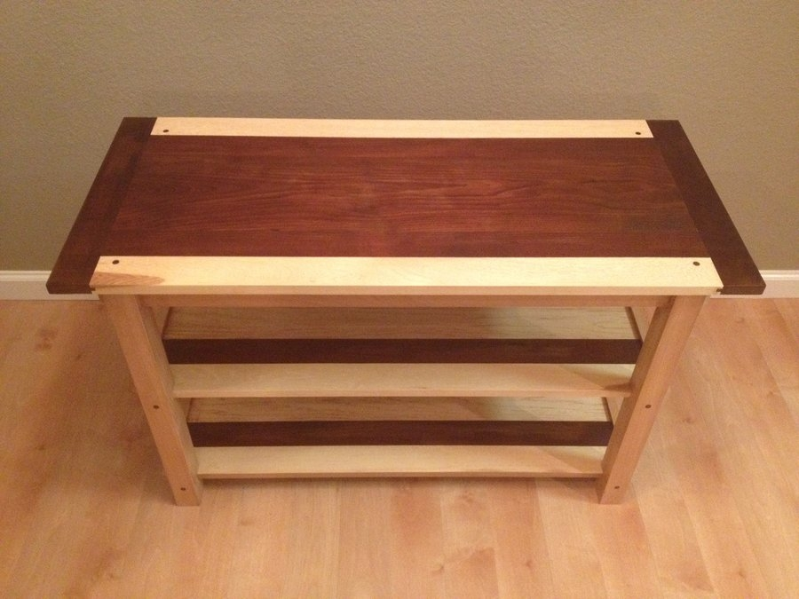Innovative Widely Used Maple TV Stands Inside Flatscreen Tv Stand Erikf Lumberjocks Woodworking (View 33 of 50)