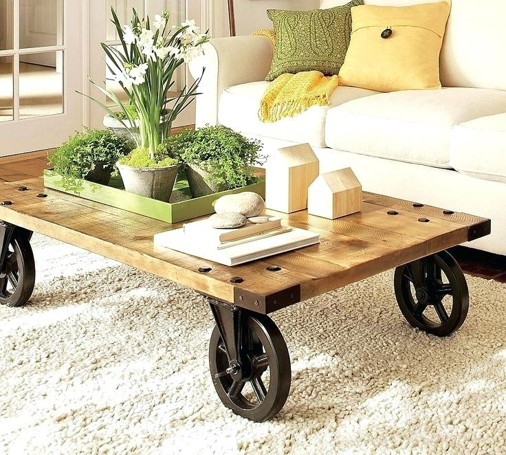 Innovative Widely Used Quirky Coffee Tables Within Creative Coffee Table Ideas Diy Unique Coffee Table Base Ideas (Image 31 of 50)