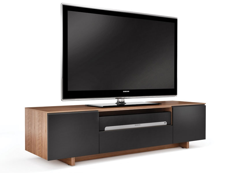 Innovative Widely Used Sonos TV Stands With Regard To Bdi Nora 8239 Home Theater Tv Console The Century House (View 14 of 50)
