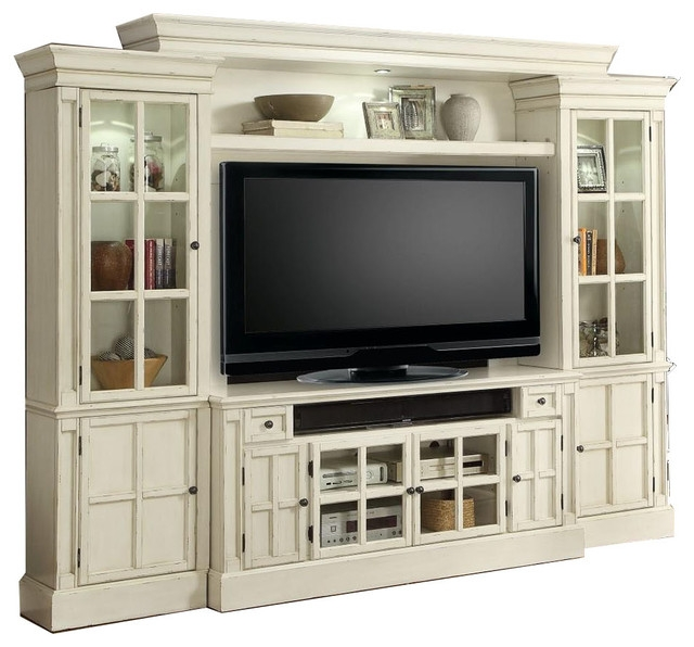 Innovative Widely Used TV Stand Wall Units Intended For White Entertainment Center Tv Stand Wall Unit Charlotte Parker (Image 35 of 50)