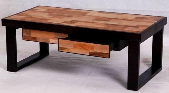 Innovative Widely Used Wood Modern Coffee Tables In Modern Coffee Table Rustic Coffee Table Custom Coffee Table (Image 35 of 50)