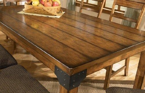 Inspiring Dining Room Tables Rustic Ideas – 3D House Designs Intended For Rustic Dining Tables (View 5 of 20)