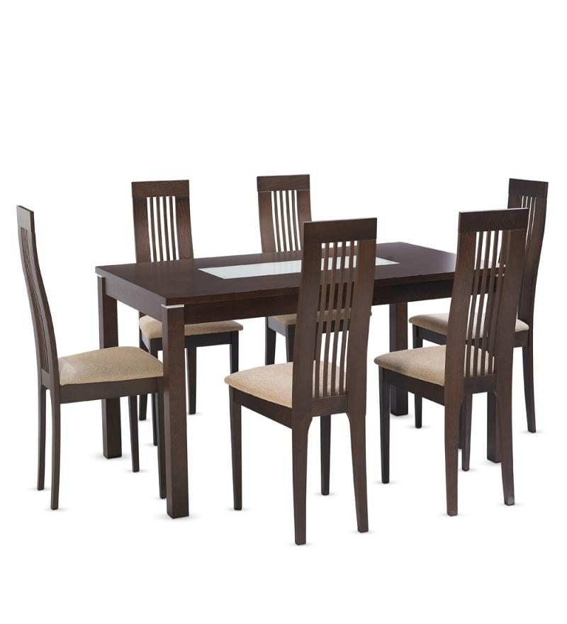 Inspiring Six Seater Dining Table And Chairs 6 Seater Dining Set Intended For 6 Seater Dining Tables (Image 14 of 20)