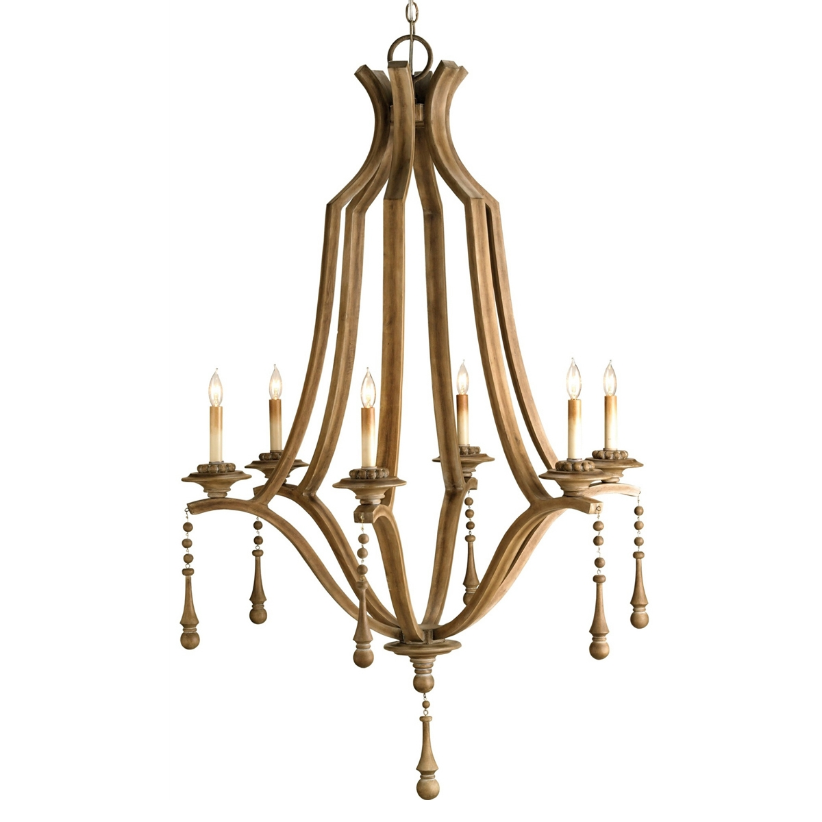 Interior Amazing Ceiling Light Wood Bead Chandelier For Home Intended For Small Turquoise Beaded Chandeliers (Image 19 of 25)
