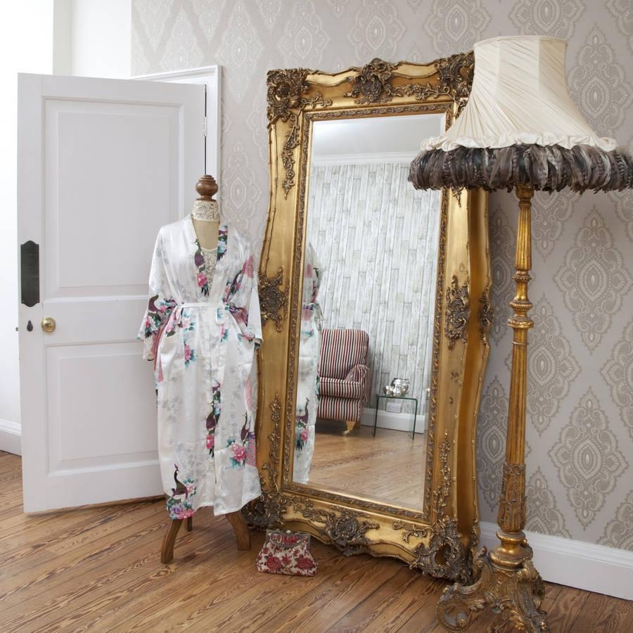 Interior : Decorative Gold Mirrors In Awesome Home Decoration Pertaining To Gold Ornate Mirrors (View 6 of 20)