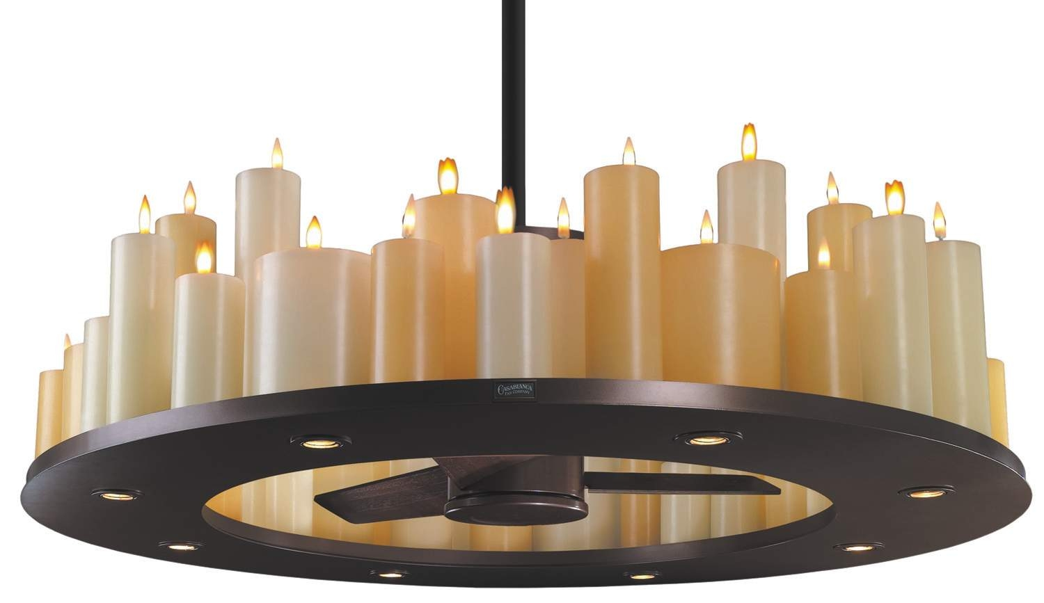 Interior Striking Chandelier Ceiling Fan For Great Living Room Intended For Led Candle Chandeliers (Image 9 of 25)