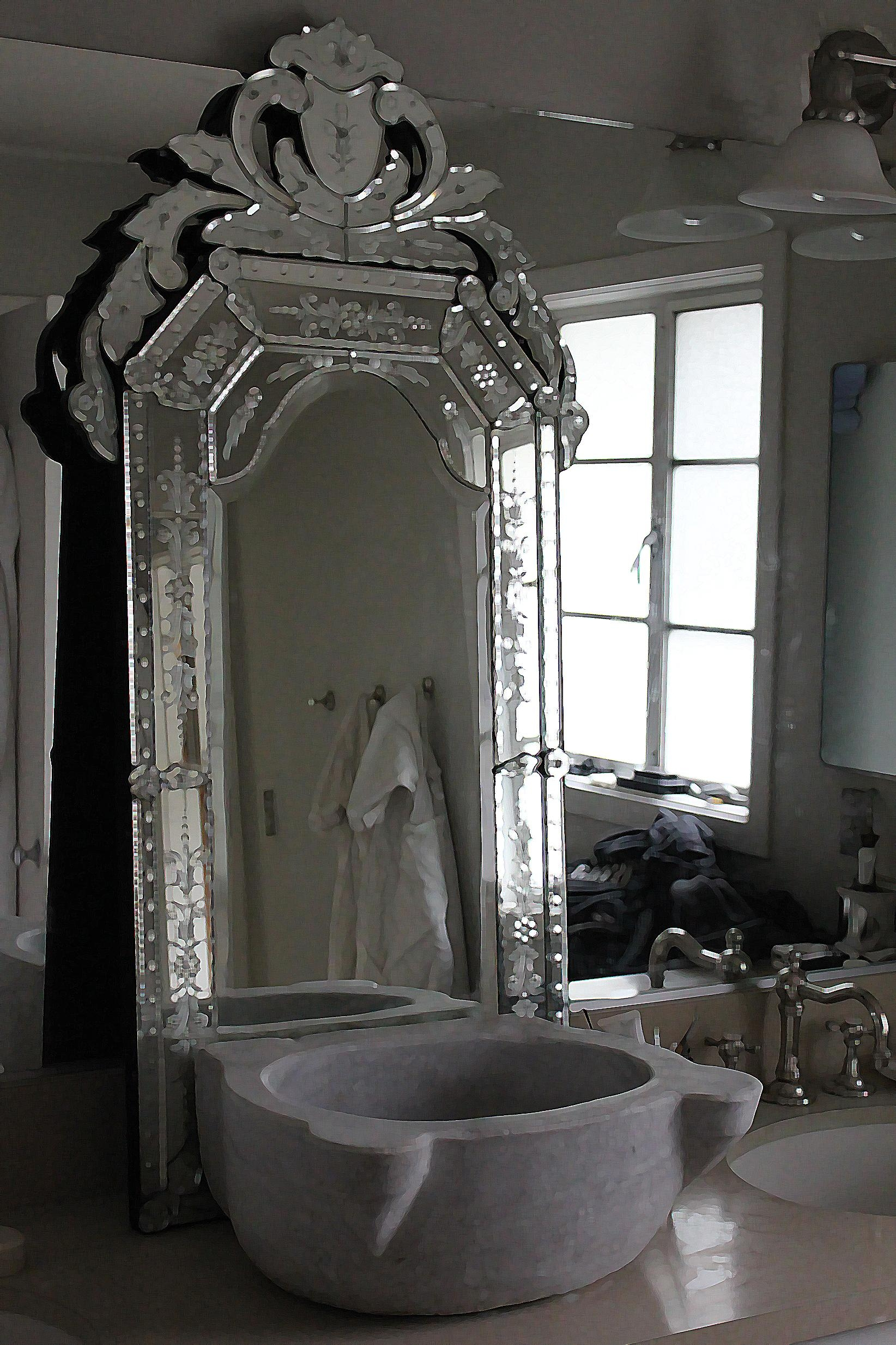Interior: Venetian Mirror | Neiman Marcus Mirrors | Decorative With Regard To Mirrors Venetian (Image 7 of 20)